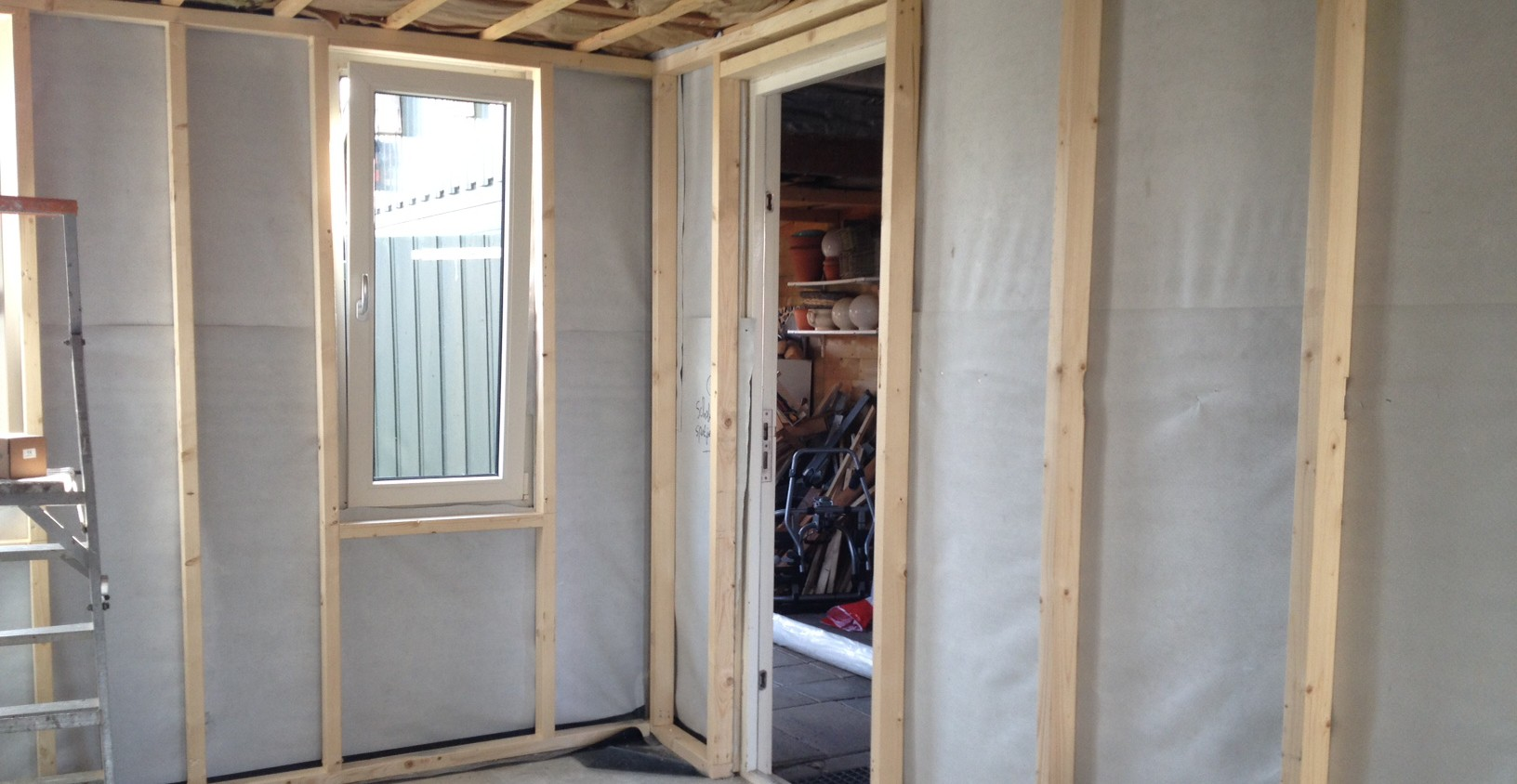 Extra Kamer Maken : Berging wordt extra kamer witmarsum 2015 hofstra bouw